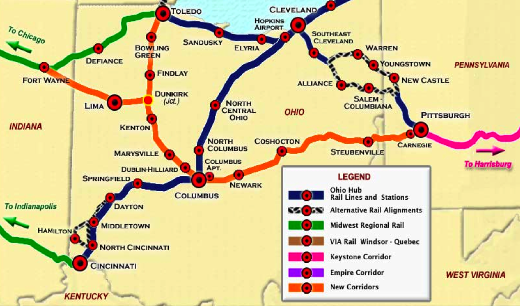 Ohio S Not So High Speed Rail Systemic Failure