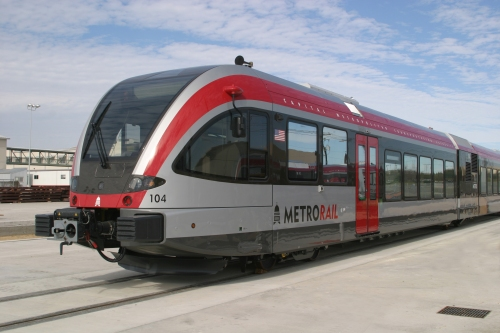 Stadler DMU used for Austin's Capital Metro