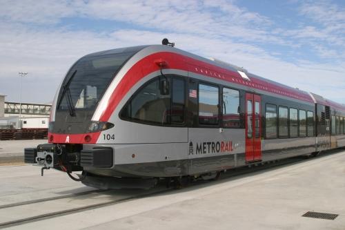 Stadler DMU used for Austin's Capital Metro