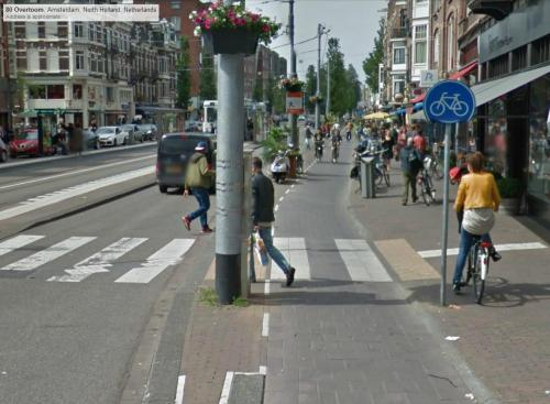 Amsterdam cycle track