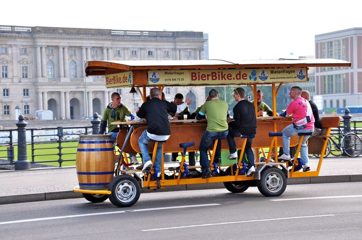 Bikes And Beers San Francisco Beer Bike in Berlin