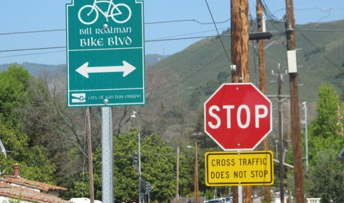 advance-crossing-sign-san-luis-obispo-ca